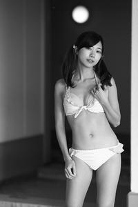 美雨ちゃん10 - モノクロポートレート写真館