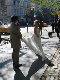 ブライダルフォトツアー3日目 ショートボブの花嫁さん - NYの小さな灯り ~ヘアメイク日記~