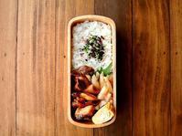 10/31(火)ささみとエリンギのソース炒め弁当 - おひとりさまの食卓plus