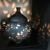 小川洋子さんの茶香炉が届いています。 - 陶千房ノート