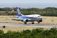 バニラエア 下地島空港での訓練 その9 宮古空港での撮影 ANA B737-500 - 南の島の飛行機日記
