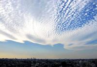 今日の高積雲 - のんびり街さんぽ