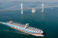 世界最大級コンテナ船「MOL Truth」竣工 - 船が好きなんです.com