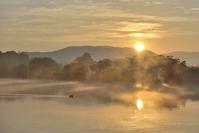 朝寒 水上池 - 東大寺が大好き