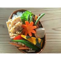 肉野菜炒めBENTO - Feeling Cuisine.com