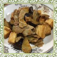 厚揚げ・茄子・舞茸・豚肉のピリ辛味噌炒め(レシピ付) - kajuの■今日のお料理・簡単レシピ■