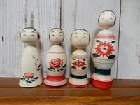 松谷伸吉工人作のこけし'1711月 - こけしと手織りの小部屋