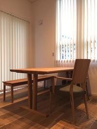 納品実例~カリモク家具のダイニングセットとTVボード~ - CLIA クリア家具合同会社