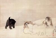 犬猫画 - 風に吹かれてすっ飛んで ノノ(ノ`Д´)ノ ネタ帳