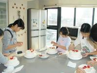 お申し込み開始!子供「クリスマスケーキ講習会」 - 料理研究家 島本 薫の日常