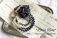 てのこと ~永遠の花 ヴィンテージガラス&…~ 商品追加のお知らせ - *Lotus Ring*