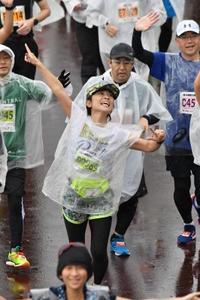 豪雨 × 濁流 × 42.195km 完走!! - ママになっても新幹線通勤続行中!ジョイセフ ミッチのブログ