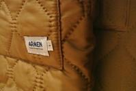ARMEN::Heat Quilt Reversible Hooded Coat - JUILLET