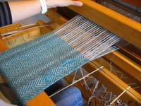 綾織り(ダイヤ柄) - アトリエひなぎく 手織り日記