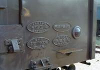平成の画像クモハ12 041の銘板 - 『タキ10450』の国鉄時代の記録
