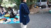 護国神社 フリーマーケット 11月 - 古布や麻の葉
