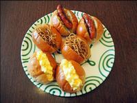 ホットドッグ、エッグドッグ、そして懐かしい焼きそばパン - 人形町からごちそうさま