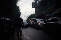 Walking together to SM Bicutan in the evening - SONGS
