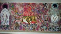 「村上隆の五百羅漢図展」@森美術館 - 海外出張-喜怒哀楽-