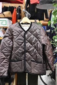 Hollingworth country outfitters ・・・ QUILTING JACKET (当店別注カラー)!★! - selectorボスの独り言   もしもし?…0942-41-8617で細かに対応しますョ  (サイズ・在庫)