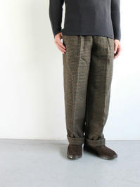KESTIN HARE HULL TROUSER / BROWN CHECK - 『Bumpkins putting on airs』