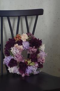 古希のお祝いには紫を。 - プリザーブドフラワーレイラ ショップブログ