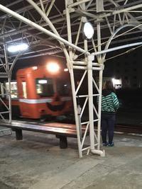 【岳南電車】かぼちゃ電車にも会えました♪ - 子どもと暮らしと鉄道と