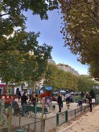 パリ、モンパルナスの児童公園 - ドイツの森の散歩道