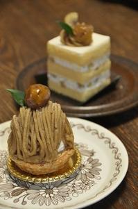 秋のケーキを頂きます~♪ - a&kashの時間。