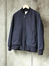 STILL BY HAND ウールリブブルゾン - 【Tapir Diary】神戸のセレクトショップ『タピア』のブログです