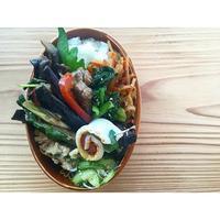 牛ロースと茄子のオイスター炒めBENTO - Feeling Cuisine.com
