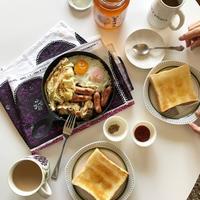 乃が美で朝ごパン - Awesome!