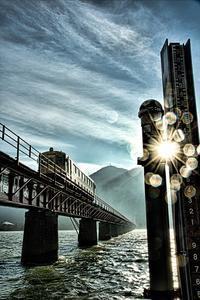 日の出の高さ3m80cm - 今日も丹後鉄道