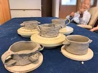 【スープマグカップ】 - 出張陶芸教室げんき工房
