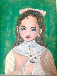 絵画ビフォー&アフター。。と球体関節講座について。。♪^^ - rubyの好きなこと日記
