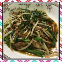 鯖味噌缶ともやしの炒め物 - kajuの■今日のお料理・簡単レシピ■