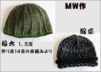 ☆ 特殊糸で帽子 - ニットルームpiko