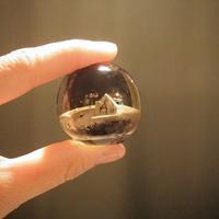 セピアガラスのペーパーウエイト - warble22ya
