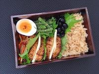 11/9炙り厚揚げチーズ弁当 - ひとりぼっちランチ