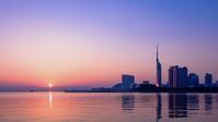 百道浜の夜明け - Enjoy Life