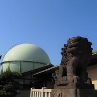 ガスタンクが見える風景 - のーんびり hachisu 日記
