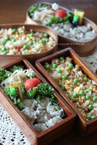 シウマイ&炒飯 ✿ 豚汁定食(๑¯﹃¯๑)♪ - **  mana's Kitchen **