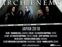 Arch Enemy 来日公演の詳細が決定! - 帰ってきた、モンクアル?