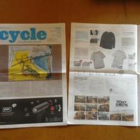 季刊紙『サイクル最新号』 - woodworks 季の木  日々を愉しむ無垢の家具と小物