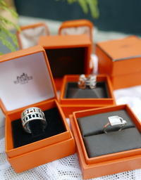 Hermes silver rings - carboots