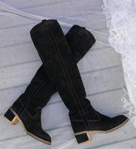 Boots (Chanel, YSL) - carboots