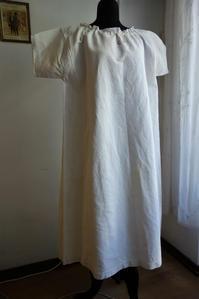 19世紀厚手コットン半袖ナイティ654半額 - スペイン・バルセロナ・アンティーク gyu's shop