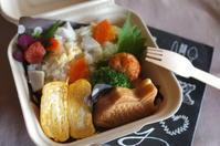今日の炊き込みご飯弁当 - sweet+