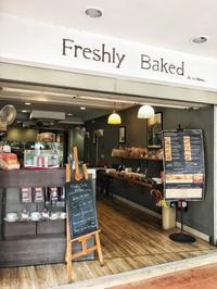 キリニーロードで自家製パンのサンドイッチ@Freshly Baked - 日日是好日 in Hong Kong