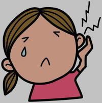 耳垢つまって耳鼻科へ(松浦) - 柚の森の仲間たち
